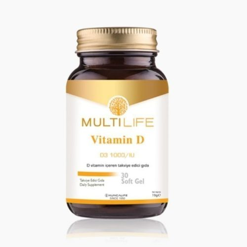 Multilife D vitamini huncalife